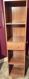 Rotating storage cabinet/valet