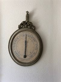 French Wall Barometer