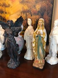 Just a few of the religious items.