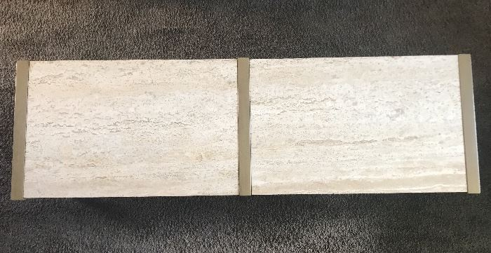 What centuryTravertine coffee table