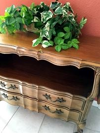 and A Matching Thomasville Rolling Drop Leaf Buffet...