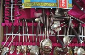 brass silverware