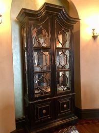 9 ft tall china cabinet