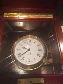 Shreve Crump & Low quartz clock.