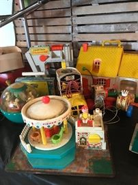 1970's FISHER PRICE TOYS, ACCESSORIES, PEOPLE