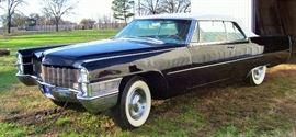 1965 cadillac conv black