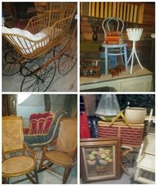 antique baby buggy collection
