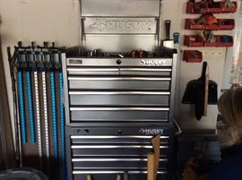 Tool chest full of tools