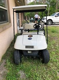 EZ GO Golf Cart by Txtron works great