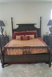 Another shot of master bed