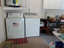 Amana Dryer and GE washer.. Washer very new. Dryer in very good condition
