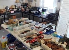 Assorted tools etc.