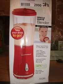Hamilton Beach Personal Single Serve Blender with ...