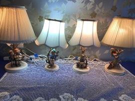 Hummel Lamps