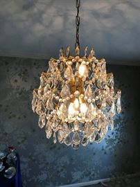 Swedish Crystal Chandeleir