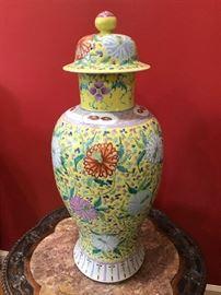 Oriental Large Ginger Jar