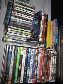 CD's DVD's