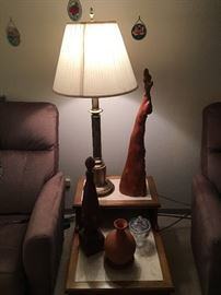 Table Lamp and Cypress Knee Artwork!