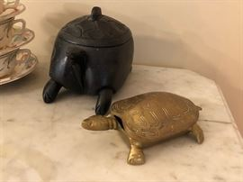 Decorative Turtle Boxes