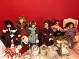 collector dolls, little women