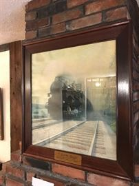 1925 Missouri Pacific Railroad Sunshine Special ~ William Harden ~ Framed Print