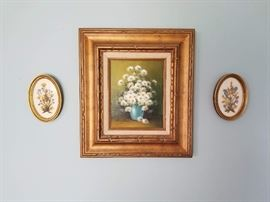 vintage paintings and wall art