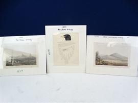 3 Various 1855 Railroad Surveys