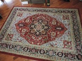 One of SEVERAL NEWER area carpets...we also have some older carpets (not antique)