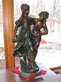 Bronze (restrike) Moreau - LARGE EXAMPLE !