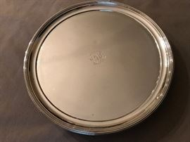 1806 English Sterling Silver Salver w/ Hallmark of Peter and William Bateman