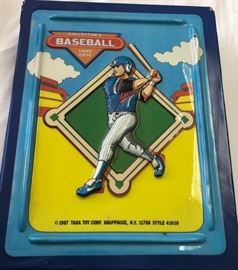 1987 Tara Toy Corp Collector's Baseball Card Case with Cards- See Pictures for Contents