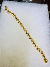 14k gold 16 gram bracelet