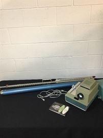 Vintage Argus Projector and De Lite Screen