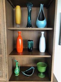 Mid century vases