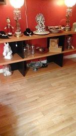 beautiful wood book shelf
