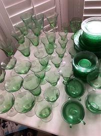 Fostoria Fairfax crystal glassware