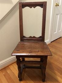 Texas Primitive chair