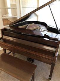 Francis Bacon Baby Grand Piano  SN 66460