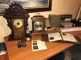 1875 Seth Thomas  mantel clock, Hamilton Clock  and  more collectibles !