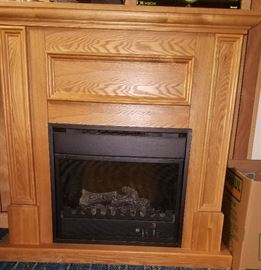 "Oak ""fireplace"""