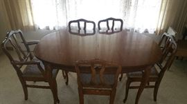 MCM Dining Room Table and Chairs