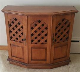 Lattice Cabinet