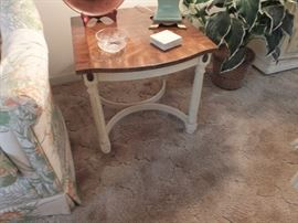 matching pair end tables
