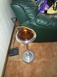 Vintage tall ashtray