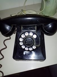 Antique telephone