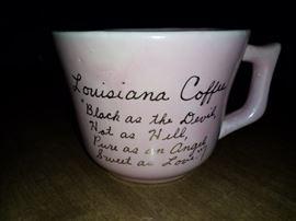 Antique southern large mug