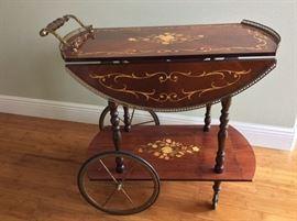 Italian Tea Cart.