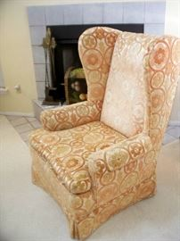 second Wing Back Chair