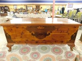 Lakeside craft shops cedar chest