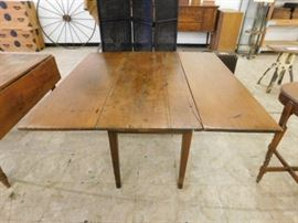 Antique Drop Leaf Farmhouse kitchen table